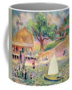 The Green Beach Cottage Coffee Mug