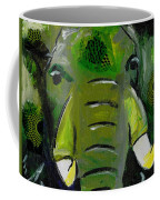 The Green Elephant In The Room Coffee Mug