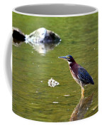 The Green Heron Coffee Mug