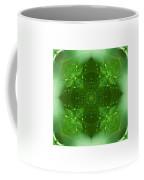 The Green Jewel Of Nature Mandala Coffee Mug