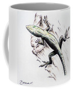 The Green Lizard Coffee Mug