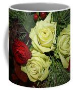 The Green Roses Of Winter Coffee Mug