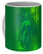 The Green Wood Nymph Calls Coffee Mug