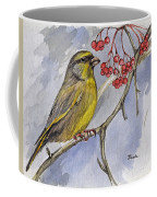 The Greenfinch Coffee Mug