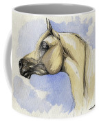 The Grey Arabian Horse 12 Coffee Mug
