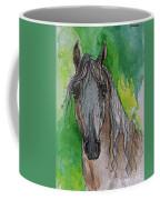 The Grey Arabian Horse 17 Coffee Mug