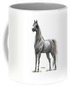 the Grey arabian horse 7 Coffee Mug