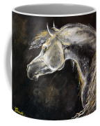 The Grey Arabian Horse 9 Coffee Mug