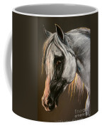 The Grey Arabian Horse Coffee Mug