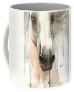 The Grey Horse Portrait 2014 02 10 Coffee Mug