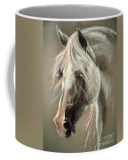 The Grey Horse Soft Pastel Coffee Mug