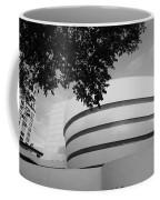 The Guggenheim Museum In Black And White Coffee Mug