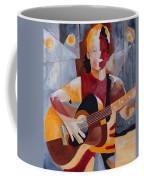 The Guitar Player Coffee Mug