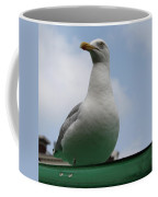 The Gull On The Roof Coffee Mug