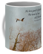 The Hand Of Friendship Coffee Mug