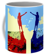 The Hand Of Friendship Coffee Mug by Patrick J Murphy