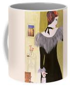 The Handbag, 2004 Acrylic With Collage On Paper Coffee Mug