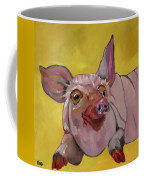 The Happiest Pig In The World Coffee Mug