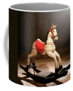 The Happy Little Rocking Horse In The Attic Coffee Mug