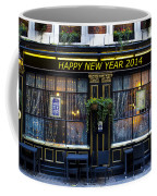 The Happy New Year 2014 Pub Coffee Mug