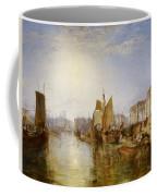 The Harbor Of Dieppe Coffee Mug