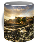 The Harbour At Lee  Coffee Mug
