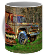 The Hard Headed Ford Work Horses. Coffee Mug