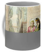 The Harem, Plate 1 From Illustrations Coffee Mug by John Frederick Lewis