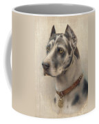 The Head Of A Doberman Coffee Mug
