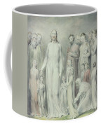The Healing Of The Woman With An Issue Of Blood Coffee Mug by William Blake