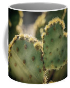 The Heart Of A Cactus  Coffee Mug