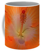 The Heart Of A Hibiscus Coffee Mug