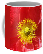 The Heart Of A Red Poppy Coffee Mug