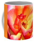 The Heart Of A Rose Coffee Mug