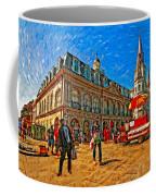 The Heart Of New Orleans Coffee Mug by Steve Harrington