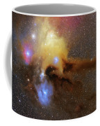 The Heart Of Scorpius Antares Region Coffee Mug