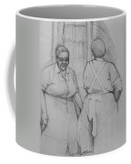 The Help - Housekeepers Of Soniat House Sketch Coffee Mug by Jani Freimann
