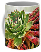 The Hen And Her Chicks  Coffee Mug
