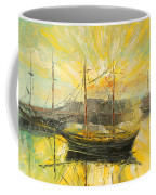 The Heraklion Harbour Coffee Mug