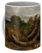 The Heron Disturbed Coffee Mug