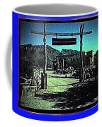 The High Chaparral Set  1984 Collage Old Tucson Arizona 1984-2012 Coffee Mug