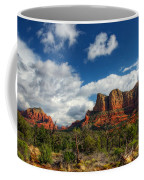 The Hills Of Sedona  Coffee Mug