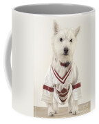 The Hockey Player Coffee Mug by Edward Fielding