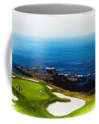The Hole 7 At Pebble Beach Golf Links Coffee Mug