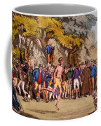 The Hopping Match On Clapham Common Coffee Mug