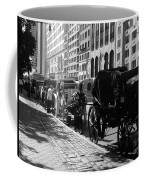 The Horse And Buggy Lineup Coffee Mug