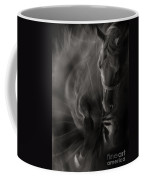 The Horse And Dandelion Coffee Mug