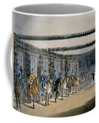 The Horse Armour Tower, Print Made Coffee Mug by T. & Pugin, A.C. Rowlandson