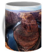 The Horseshoe River At Ultra High Resolution Coffee Mug