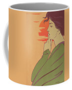 The Hour Of Silence Coffee Mug by Henri Georges Jean Isidore Meunier